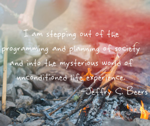 Camping fire quote